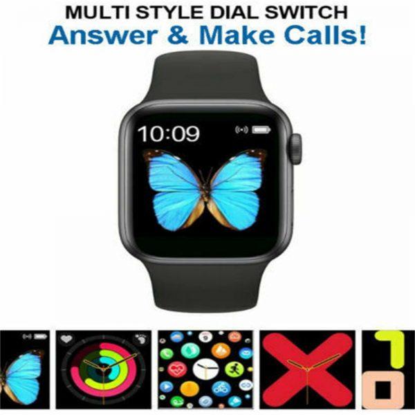 Bluetooth Smart Watch Fitness Tracker Bracelet Heart Rate Monitor Men Women (2)