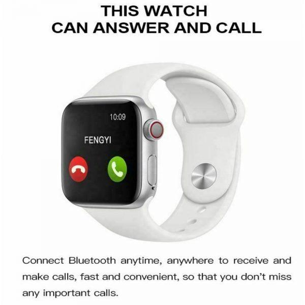 Bluetooth Smart Watch Fitness Tracker Bracelet Heart Rate Monitor Men Women (5)