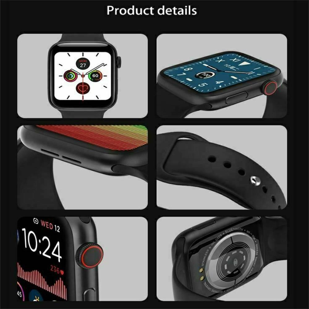 Bluetooth Smart Watch Fitness Tracker Bracelet Heart Rate Monitor Men Women (7)