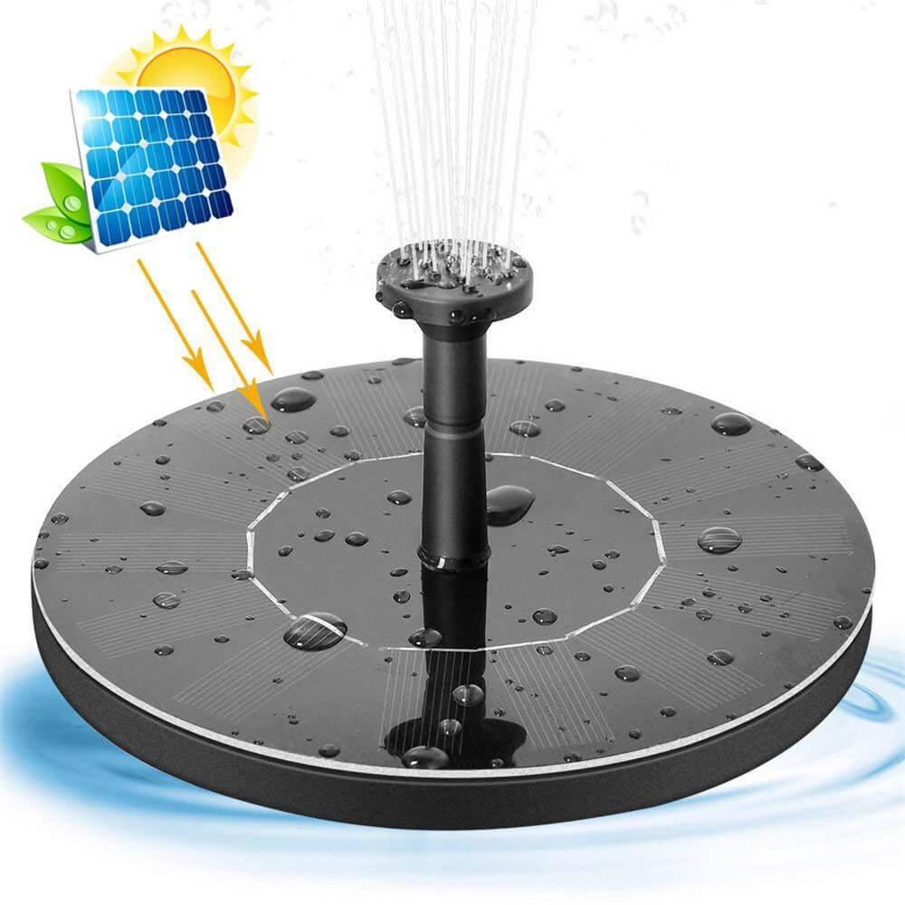 Dc Brushless Fountain Water Pump Bird Bath Fountainsolar Water Fountain Pump (4)