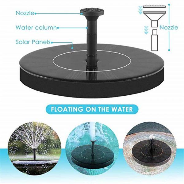Dc Brushless Fountain Water Pump Bird Bath Fountainsolar Water Fountain Pump (8)