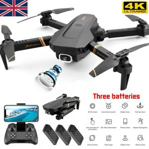 Drone X Pro Wifi Fpv 4k Hd Wide Angle Camera Foldable Selfie Rc Quadcopter Gift (1)