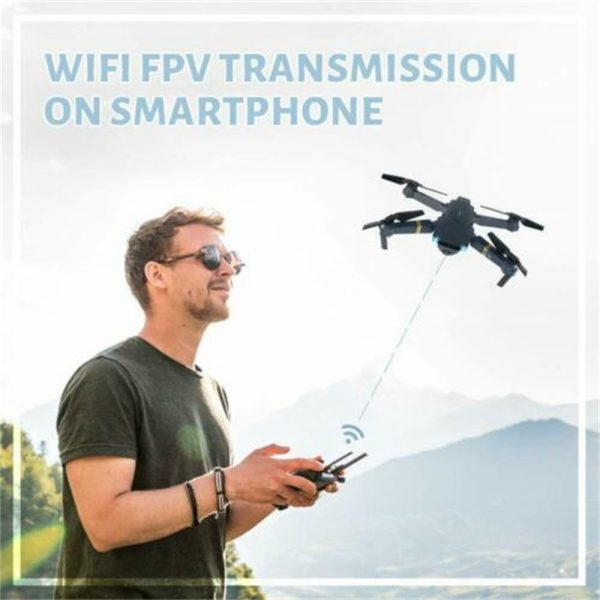Drone X Pro Wifi Fpv 4k Hd Wide Angle Camera Foldable Selfie Rc Quadcopter Gift (14)