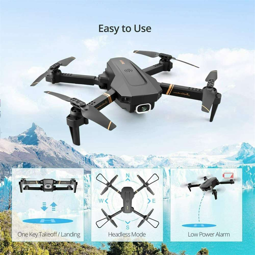 Drone X Pro Wifi Fpv 4k Hd Wide Angle Camera Foldable Selfie Rc Quadcopter Gift (15)