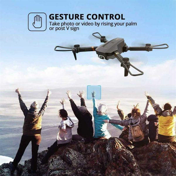 Drone X Pro Wifi Fpv 4k Hd Wide Angle Camera Foldable Selfie Rc Quadcopter Gift (18)