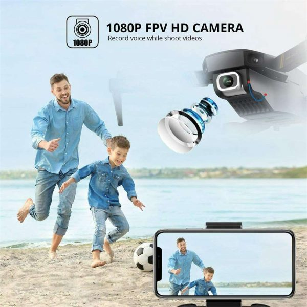 Drone X Pro Wifi Fpv 4k Hd Wide Angle Camera Foldable Selfie Rc Quadcopter Gift (20)