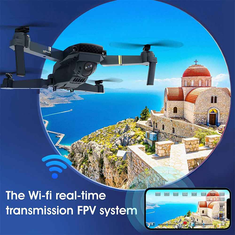Drone X Pro Wifi Fpv 4k Hd Wide Angle Camera Foldable Selfie Rc Quadcopter Gift (6)