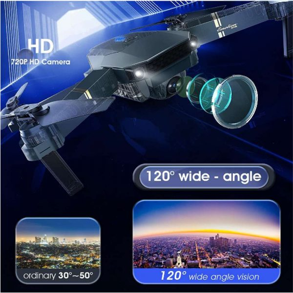Drone X Pro Wifi Fpv 4k Hd Wide Angle Camera Foldable Selfie Rc Quadcopter Gift (9)