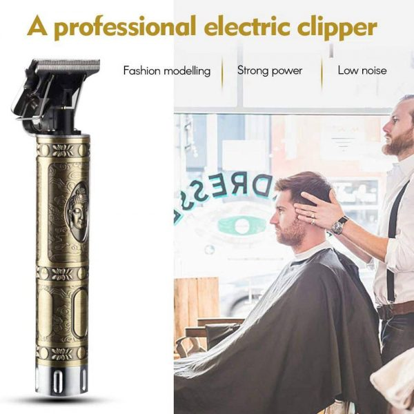 Electric Cordless T Outliner Hair Clipper Trimmer Shaver (1)
