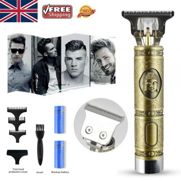 Electric Cordless T Outliner Hair Clipper Trimmer Shaver (7)
