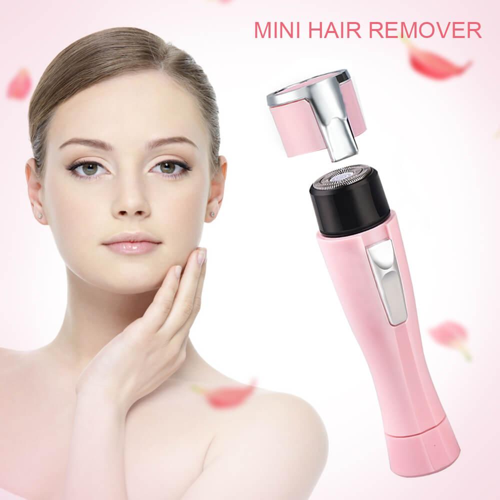 Electric Epilator Waterproof Portable Painless Mini Female Body Facial Hair Remover (6)