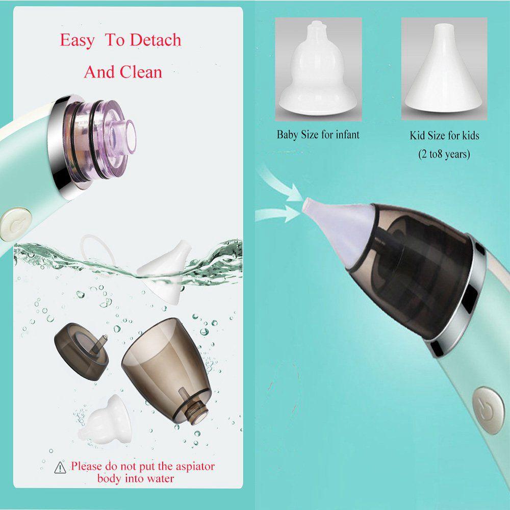 Electric Kids Baby Nasal Aspirator Silicone Vacuum Sucker Nose Mucus Cleaner (19)