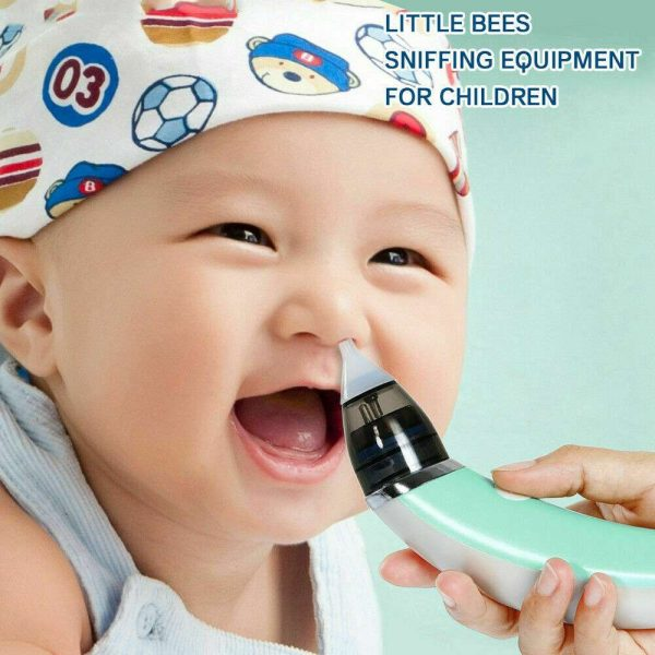 Electric Kids Baby Nasal Aspirator Silicone Vacuum Sucker Nose Mucus Cleaner (7)