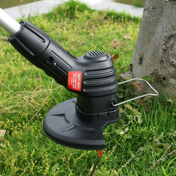 Electric Wireless Small Trimmer Weeder Rechargeable Black Multi Blade Home Garden Weeder (3)