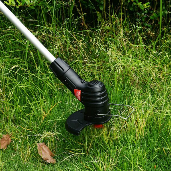Electric Wireless Small Trimmer Weeder Rechargeable Black Multi Blade Home Garden Weeder (4)