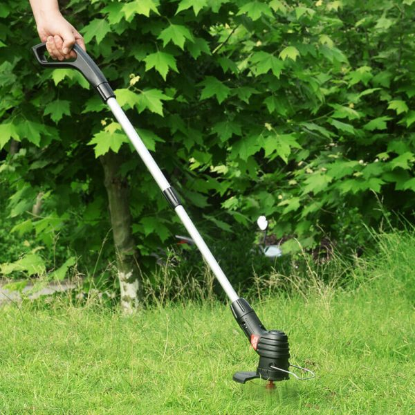 Electric Wireless Small Trimmer Weeder Rechargeable Black Multi Blade Home Garden Weeder (6)