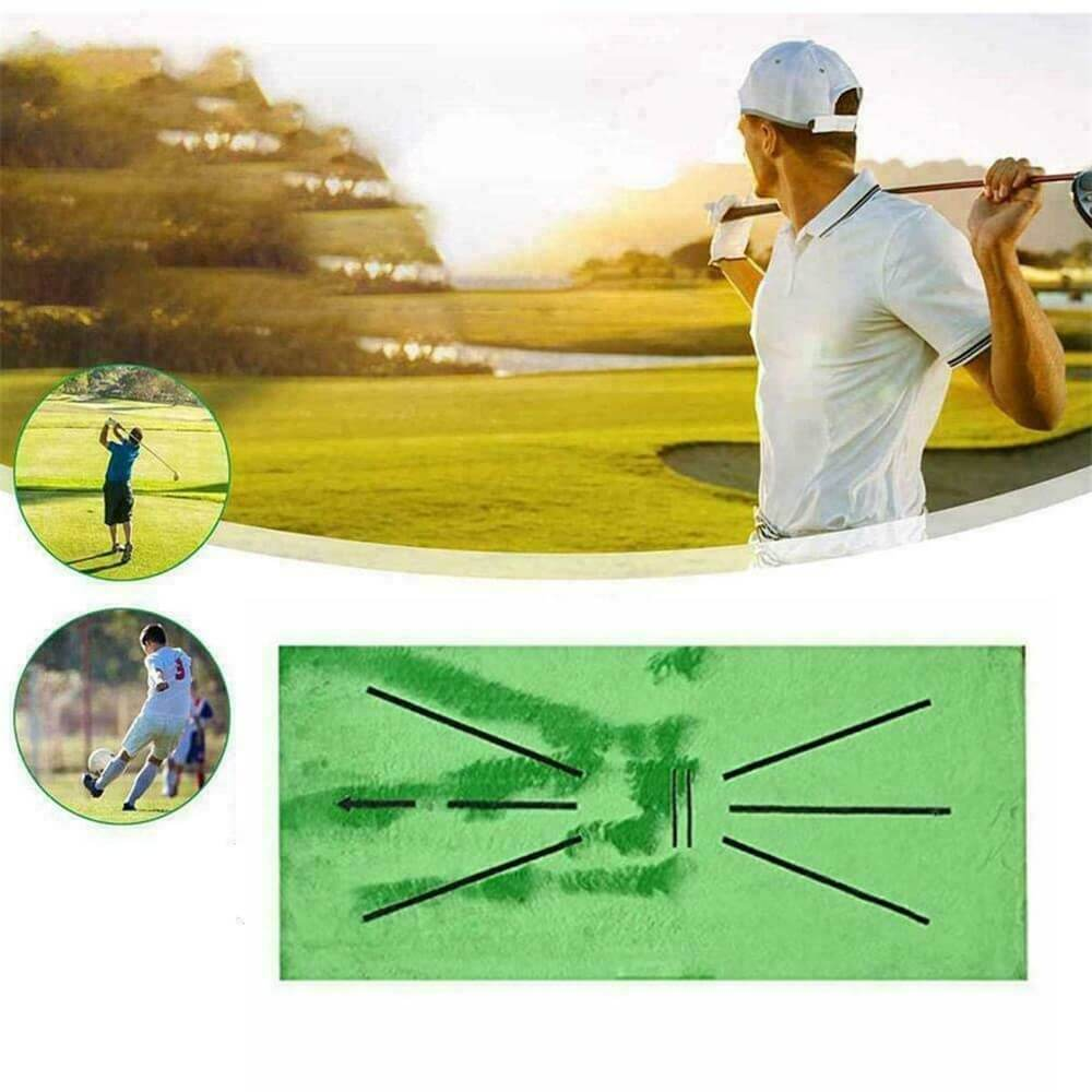 Golf Training Mat Swing Detection Batting Practice Training Aid For Beginner (1)