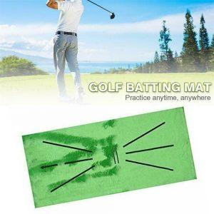 Golf Training Mat Swing Detection Batting Practice Training Aid For Beginner (2)