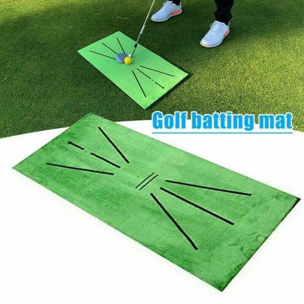 Golf Training Mat Swing Detection Batting Practice Training Aid For Beginner (3)