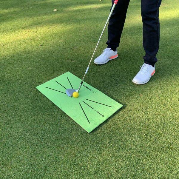 Golf Training Mat Swing Detection Batting Practice Training Aid For Beginner (5)
