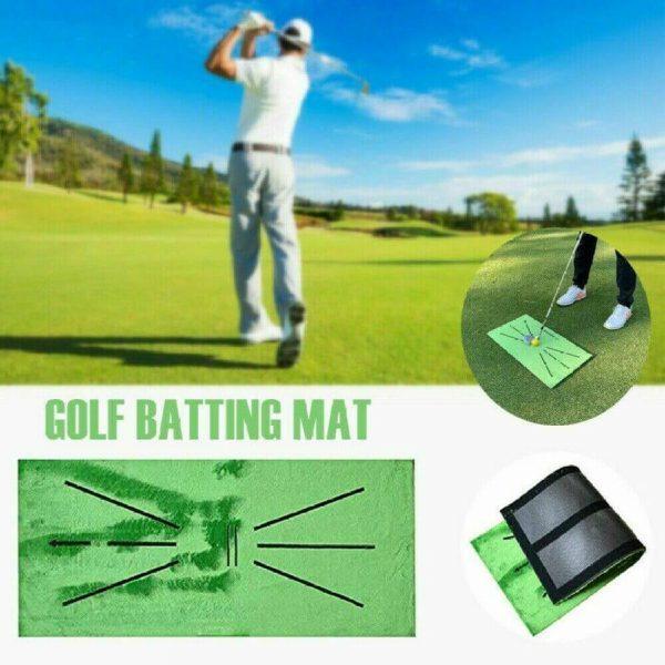 Golf Training Mat Swing Detection Batting Practice Training Aid For Beginner (6)