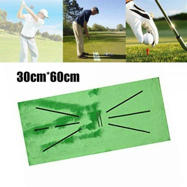 Golf Training Mat Swing Detection Batting Practice Training Aid For Beginner (7)
