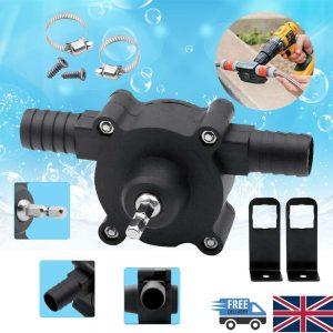 Hand Electric Drill Pump Self Priming Diesel Oil Fluid Water Transfer Pumps (1)