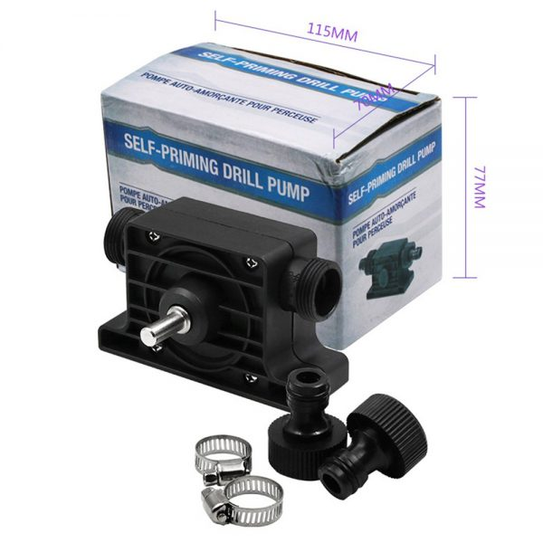 Hand Electric Drill Pump Self Priming Diesel Oil Fluid Water Transfer Pumps (3)