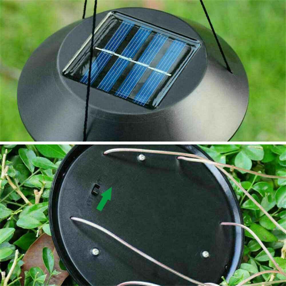 Hanging Hummingbird Lights Led Outdoor Rgb Wind Chimes Solar Powered Lamp Garden (12)