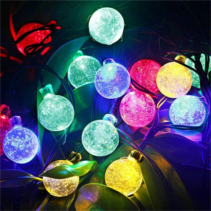 Led Solar Lights 5060 Leds Bubble Ball Light With Eight Functions Heighten The Atmosphere (2)