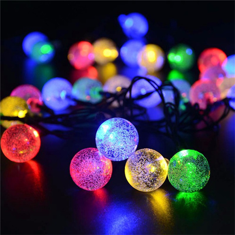 Led Solar Lights 5060 Leds Bubble Ball Light With Eight Functions Heighten The Atmosphere (3)