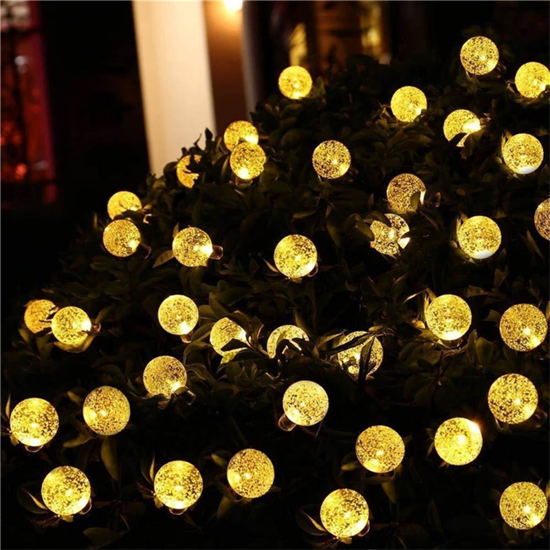 Led Solar Lights 5060 Leds Bubble Ball Light With Eight Functions Heighten The Atmosphere (5)