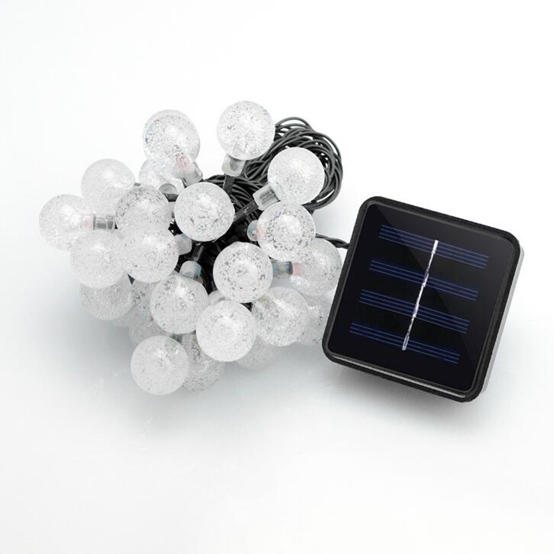 Led Solar Lights 5060 Leds Bubble Ball Light With Eight Functions Heighten The Atmosphere (6)