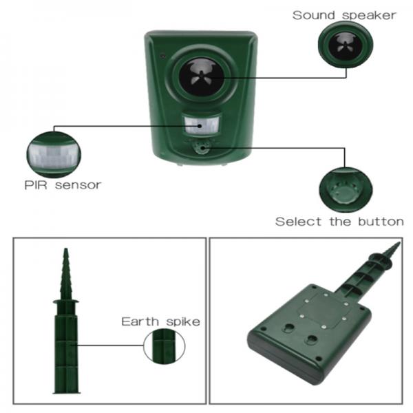 Large Animal Repellent Ultrasonic Repellent Infrared Sensor Outdoor Large Ultrasonic (2)