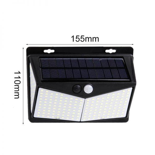 Led Solar Sensor Wall Light Waterproof Garden Outdoor Led Wall Motion Sensor Lights (7)