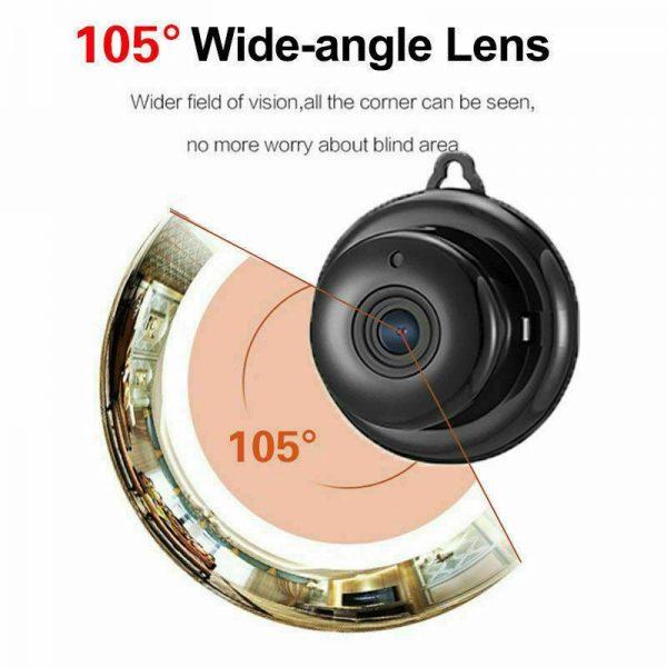 Mini Spy Ip Camera Home Security 1080p Wireless Wifi Cctv Indoor & Outdoor (11)