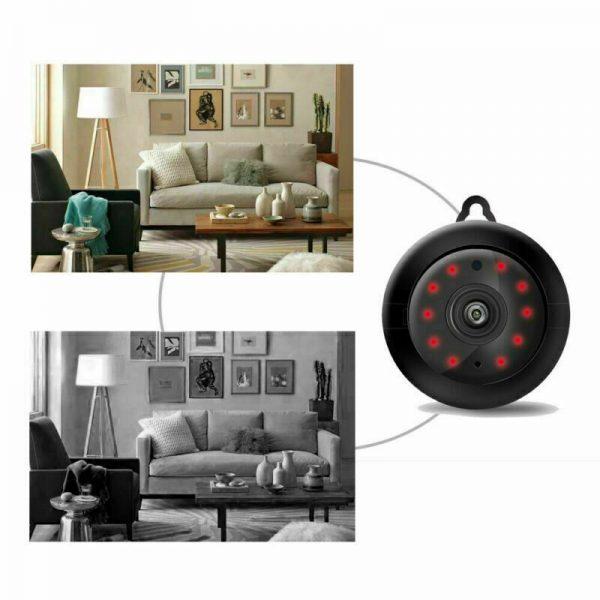 Mini Spy Ip Camera Home Security 1080p Wireless Wifi Cctv Indoor & Outdoor (12)