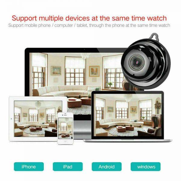 Mini Spy Ip Camera Home Security 1080p Wireless Wifi Cctv Indoor & Outdoor (2)