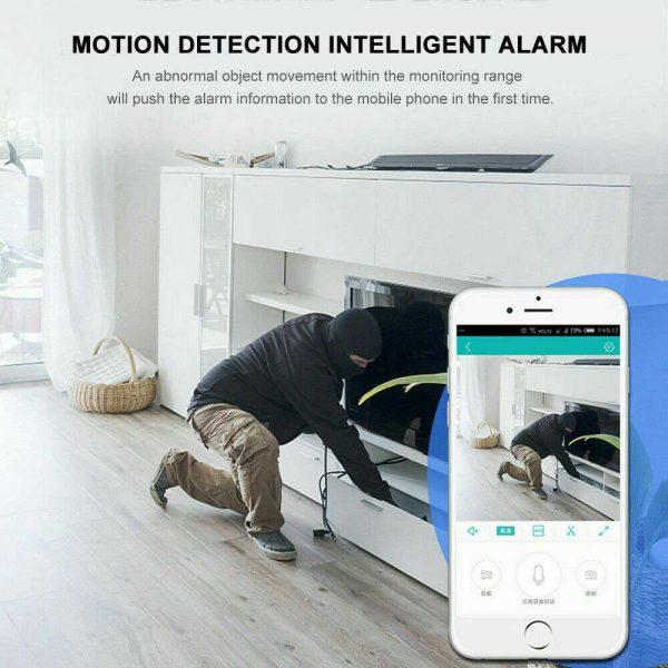 Mini Spy Ip Camera Home Security 1080p Wireless Wifi Cctv Indoor & Outdoor (27)