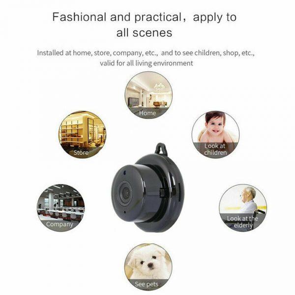 Mini Spy Ip Camera Home Security 1080p Wireless Wifi Cctv Indoor & Outdoor (28)