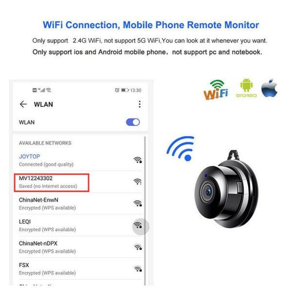 Mini Spy Ip Camera Home Security 1080p Wireless Wifi Cctv Indoor & Outdoor (3)