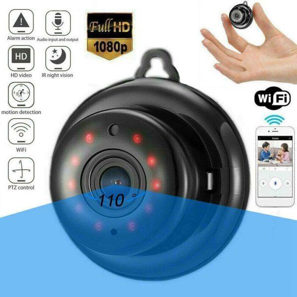 Mini Spy Ip Camera Home Security 1080p Wireless Wifi Cctv Indoor & Outdoor (30)