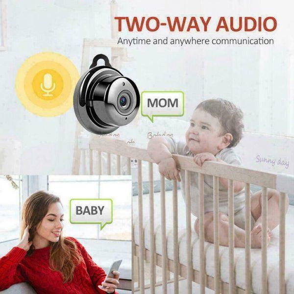 Mini Spy Ip Camera Home Security 1080p Wireless Wifi Cctv Indoor & Outdoor (31)