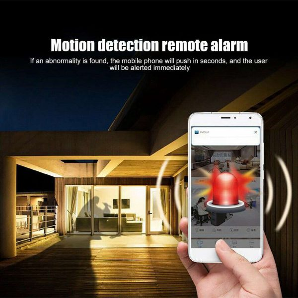 Mini Spy Ip Camera Home Security 1080p Wireless Wifi Cctv Indoor & Outdoor (9)