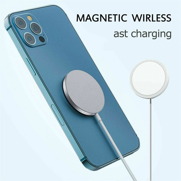 Magsafe Wireless Charger 15w Fast Charge Pad Magnetic For Iphone 12 Pro Max Uk (11)