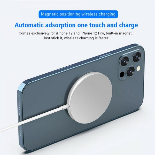 Magsafe Wireless Charger 15w Fast Charge Pad Magnetic For Iphone 12 Pro Max Uk (12)