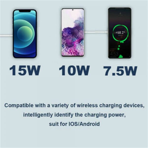 Magsafe Wireless Charger 15w Fast Charge Pad Magnetic For Iphone 12 Pro Max Uk (4)