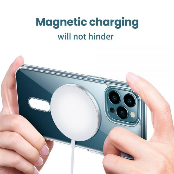 Magsafe Wireless Charger 15w Fast Charge Pad Magnetic For Iphone 12 Pro Max Uk (5)