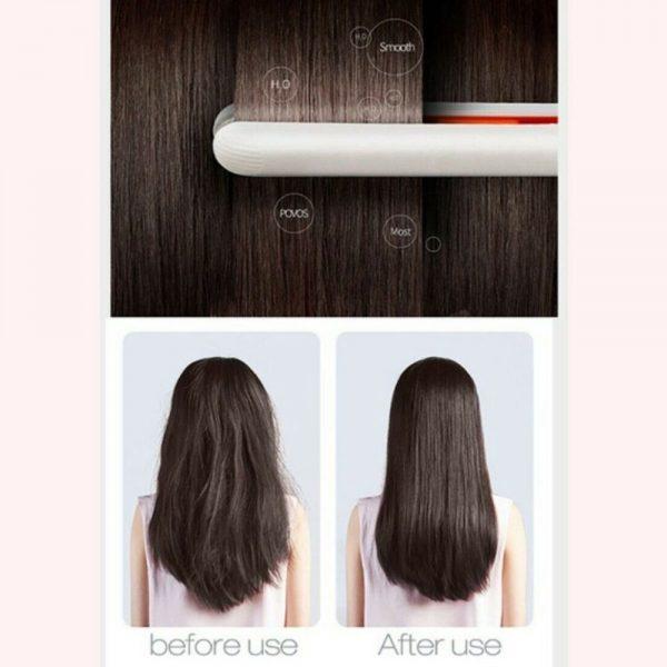 Mini Cute Hair Straightener 2 In 1 Electric Splint Flat Iron Ceramic Curler New (17)