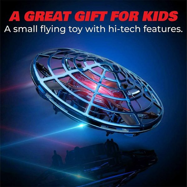 Mini Drone Smart Ufo Aircraft For Kids Flying Toys 360° Rc Hand Control Xmas (10)